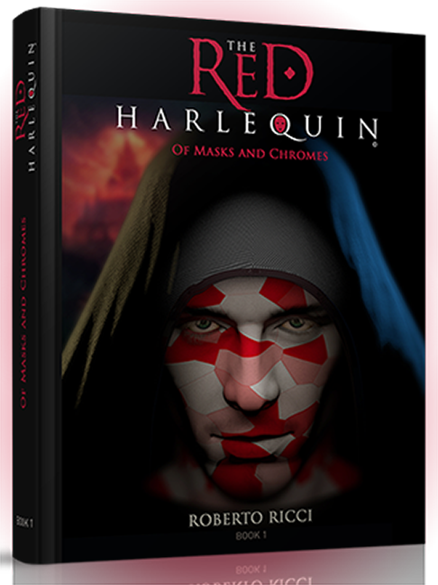 RED HARLEQUIN: Comics Series Based on YA Novellas
